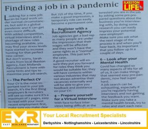Finding a Job in a Pandemic – Local Press